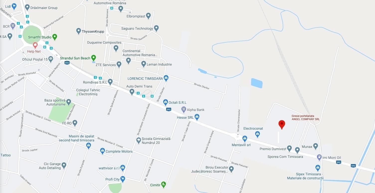 Adresa ANGEL COMPANY SRL - Calea Buziasului 77, TIMISOARA